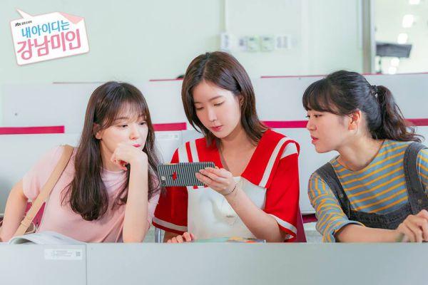 """Tổng hợp ảnh hậu trường của """"My ID is Gangnam Beauty/Người Đẹp Gangnam""""5"""