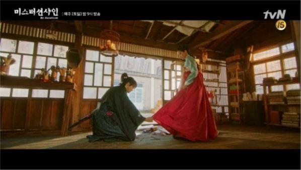 """""""Mr Sunshine"""" tập 5, 6: Eugene Choi tỏ tình với Go Ae Sin để trả thù?25"""
