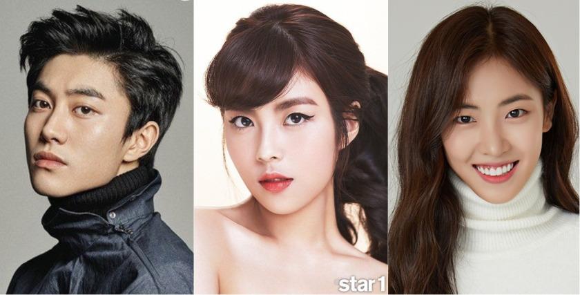 """""""Người Đẹp Gangnam"""" đang hot vì có dàn diễn viên cực phẩm 21-4"""