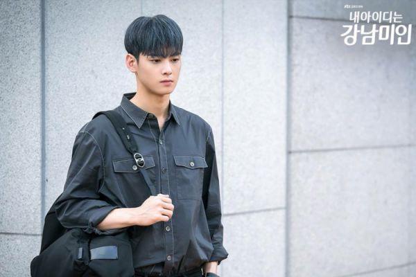 """""""Gangnam Beuty"""" tập 12: Mê mệt với màu tóc mới của Cha Eun Woo"""