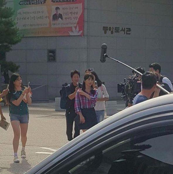 """Song Hye Kyo và Park Bo Gum trong hậu trường phim """"Boyfriend"""" 3"""