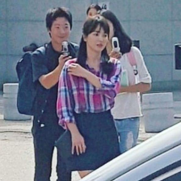 """Song Hye Kyo và Park Bo Gum trong hậu trường phim """"Boyfriend"""" 4"""