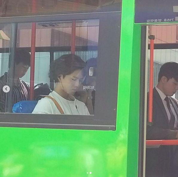 """Song Hye Kyo và Park Bo Gum trong hậu trường phim """"Boyfriend"""" 6"""