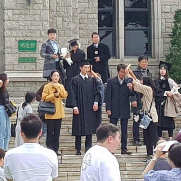 """Song Hye Kyo và Park Bo Gum trong hậu trường phim """"Boyfriend"""" 7"""