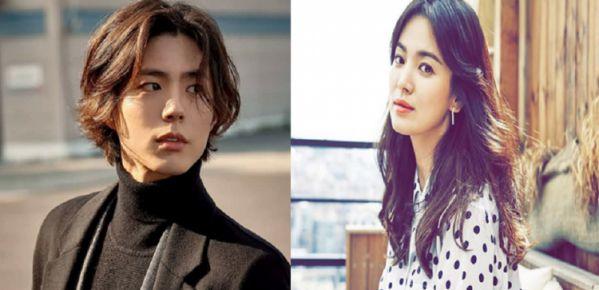 """Song Hye Kyo và Park Bo Gum trong hậu trường phim """"Boyfriend"""""""