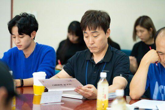 """""""Bok Soo is Back"""": Yoo Seung Ho, Jo Bo Ah cùng đọc kịch bản phim 7"""