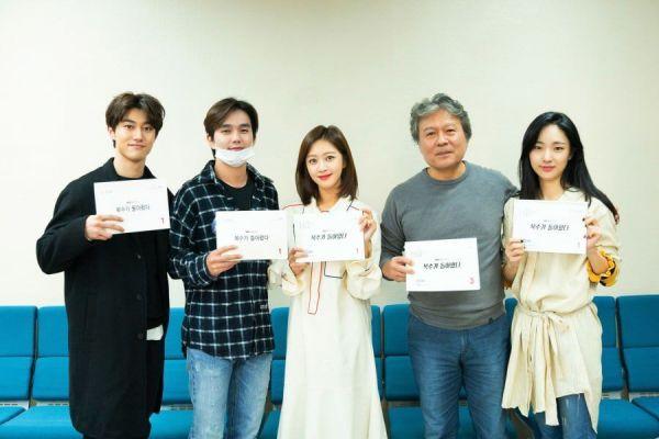 """""""Bok Soo is Back"""": Yoo Seung Ho, Jo Bo Ah cùng đọc kịch bản phim 1"""