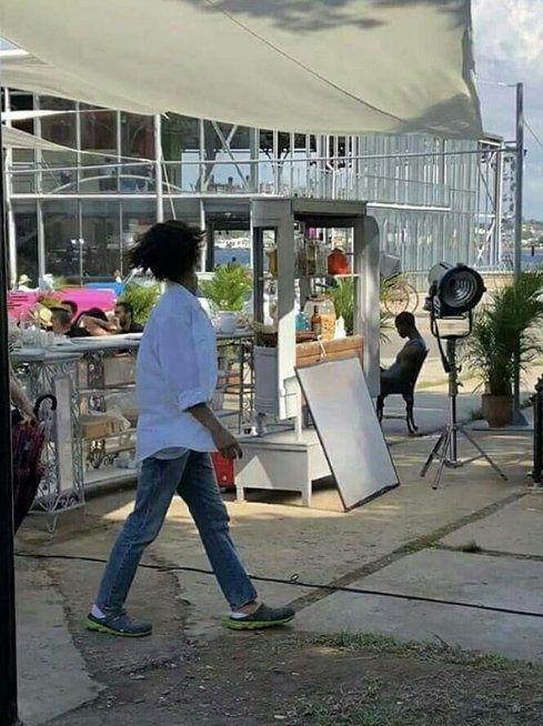"""""""Boyfriend"""": Ảnh phim trường mới nhất của Song Hye Kyo, Park Bo Gum 5"""