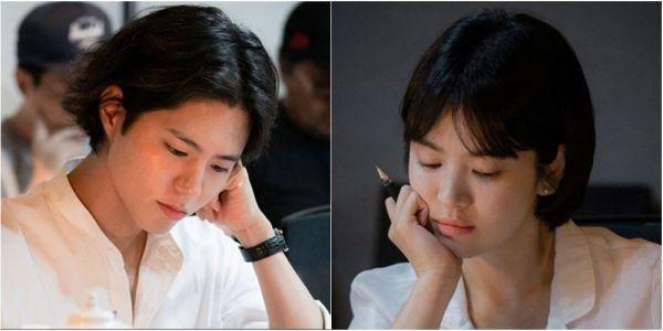 """""""Boyfriend"""": Ảnh phim trường mới nhất của Song Hye Kyo, Park Bo Gum 9"""