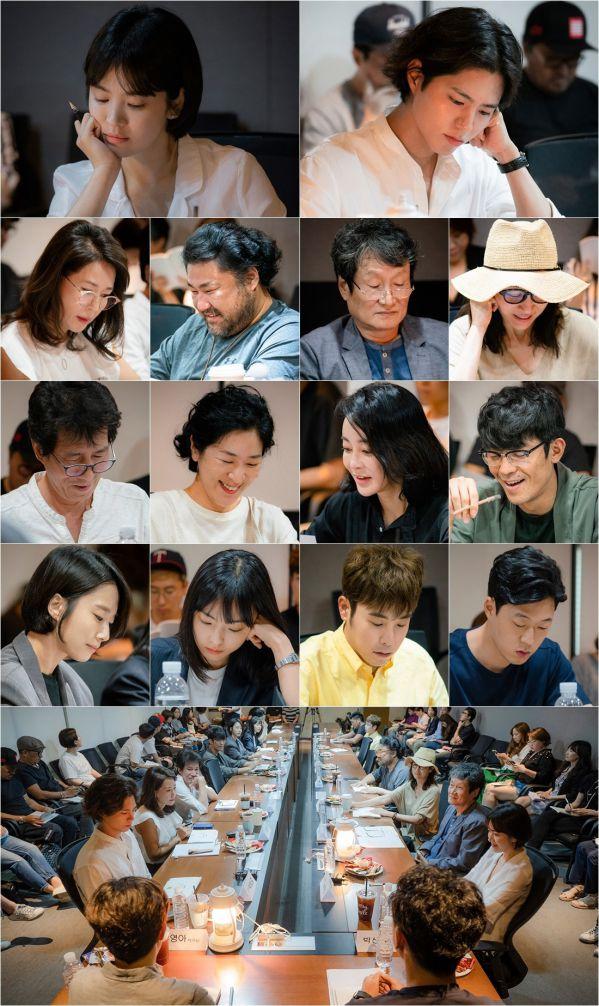 Boyfriend/Encounter: Buổi đọc kịch bản đầu tiên của Song Hye Kyo, Park Bo Gum 1