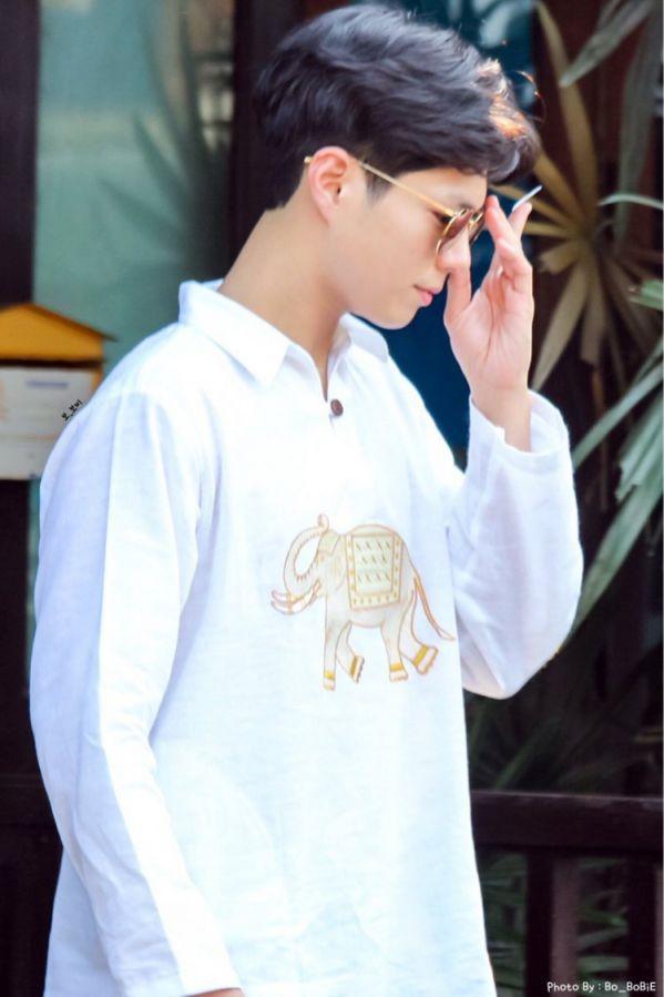 'Boyfriend': Loạt ảnh mới nhất của Park Bo Gum, Song Hye Kyo tại Cuba 6