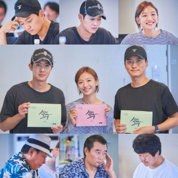 """Kim Hyun Joong đọc kịch bản """"When Time Stopped"""" chuẩn bị lên sóng 6"""