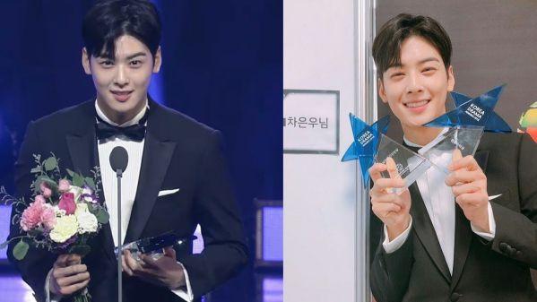 Korea Drama Awards 2018: Cha Eun Woo nổi bật giữa dàn mỹ nhân 6