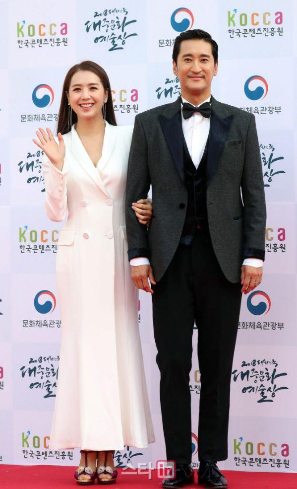 Thảm đỏ Korean Popular Culture & Arts Awards 2018 của BTS, Son Ye Jin 27