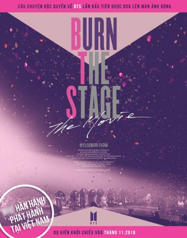 """Tin cực vui: 'Burn The Stage: The Movie"""" sẽ được chiếu tại Việt Nam 2"""