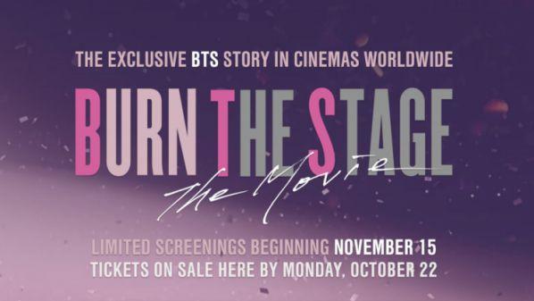 """Tin cực vui: 'Burn The Stage: The Movie"""" sẽ được chiếu tại Việt Nam 6"""