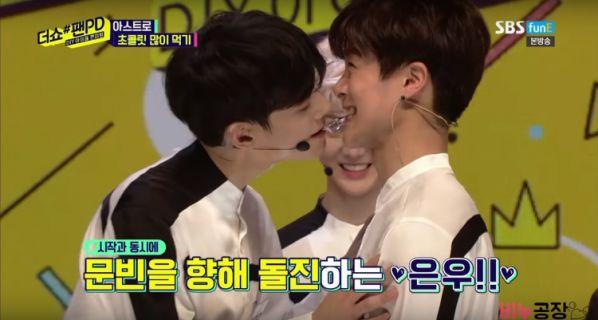 Trời ơi, vì sao Cha Eun Woo (ASTRO) lại hôn Moonbin thế này nhỉ? 2