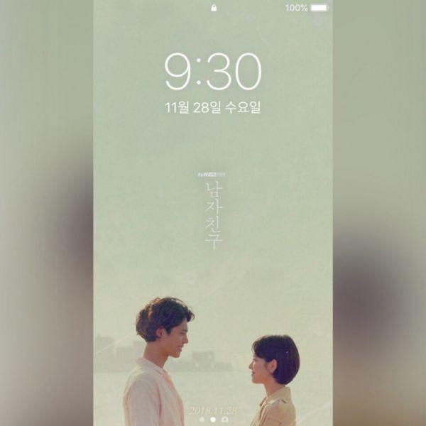 """""""Boyfriend/Encounter"""" phát hành bộ ảnh nền điện thoại xinh lung linh 7"""