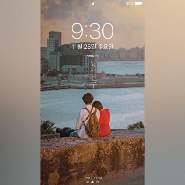 """""""Boyfriend/Encounter"""" phát hành bộ ảnh nền điện thoại xinh lung linh 8"""
