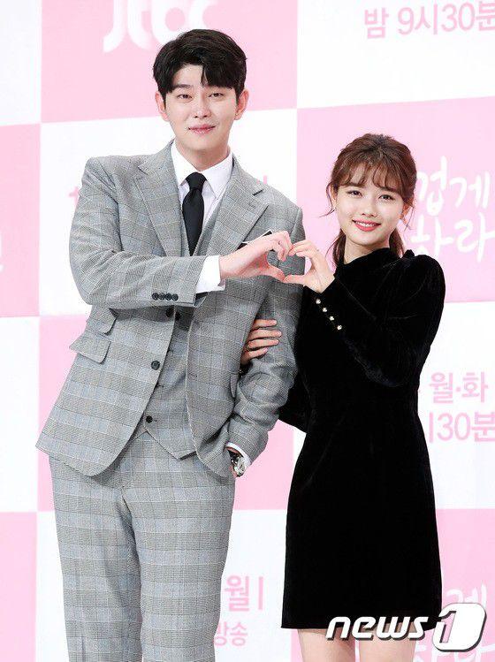 """Họp báo """"Cô Tiên Dọn Dẹp"""": Yoon Kyun Sang, Kim Yoo Jung đẹp quá! 16"""