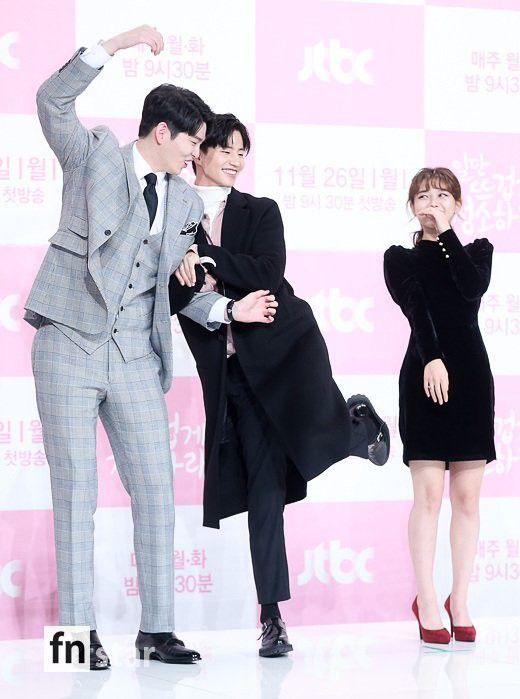"""Họp báo """"Cô Tiên Dọn Dẹp"""": Yoon Kyun Sang, Kim Yoo Jung đẹp quá! 21"""