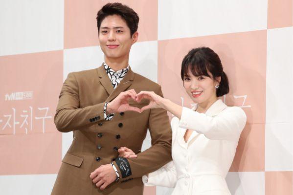 """Họp báo """"Euncouter/Boyfriend"""": Song Hye Kyo và Park Bo Gum tỏa sáng 19"""