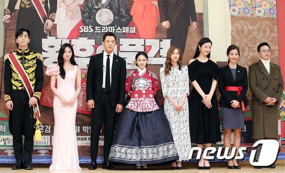 """Họp báo ra mắt phim """"The Last Empress"""": Jang Nara đẹp bất chấp 4"""
