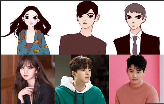 """""""Love Alarm"""" lộ những hình ảnh đầu tiên của Kim So Hyun và Song Kang 10"""