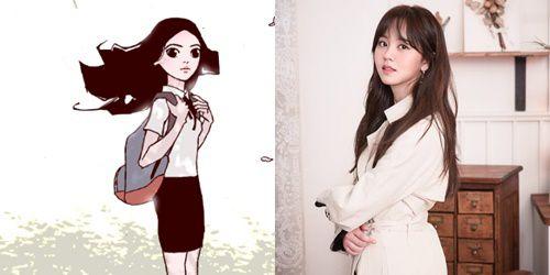 """""""Love Alarm"""" lộ những hình ảnh đầu tiên của Kim So Hyun và Song Kang 11"""