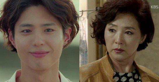 """Trong teaser của """"Boyfriend"""", kiểu tóc của Park Bo Gum giống bà thím quá! 7"""