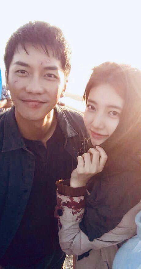 """""""Vagabond"""" lộ ảnh phim trường tình tứ của Suzy và Lee Seung Gi 5"""