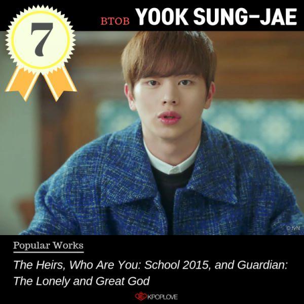 BXH 9 idol Hàn Quốc thành công với vai trò diễn viên nhất, họ là ai? 3