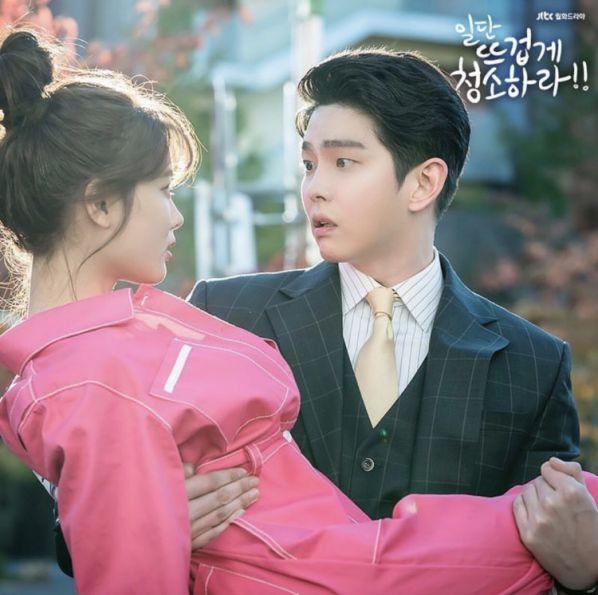 """""""Cô Tiên Dọn Dẹp"""" tung ảnh hậu trường đáng yêu của Kim Yoo Jung, Yoon Kyun Sang 14"""