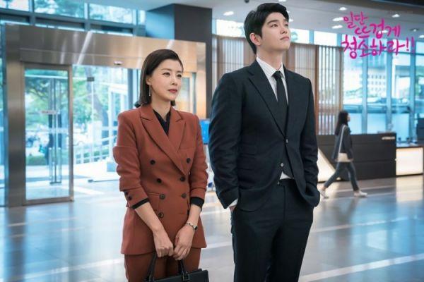 """""""Cô Tiên Dọn Dẹp"""" tung ảnh hậu trường đáng yêu của Kim Yoo Jung, Yoon Kyun Sang 15"""