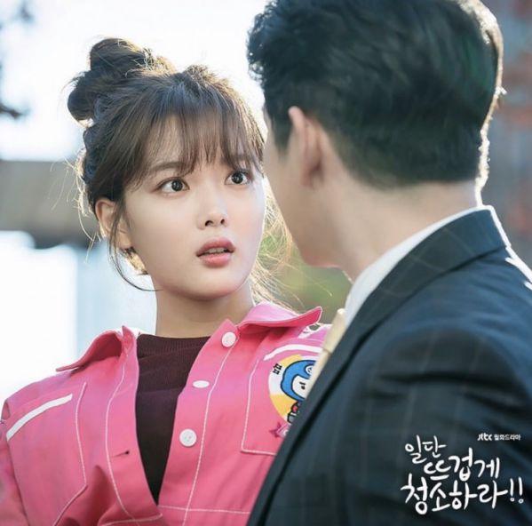 """""""Cô Tiên Dọn Dẹp"""" tung ảnh hậu trường đáng yêu của Kim Yoo Jung, Yoon Kyun Sang 16"""