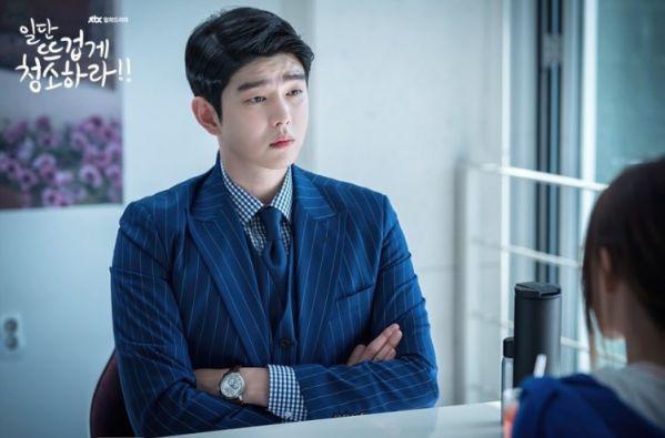 """""""Cô Tiên Dọn Dẹp"""" tung ảnh hậu trường đáng yêu của Kim Yoo Jung, Yoon Kyun Sang 18"""