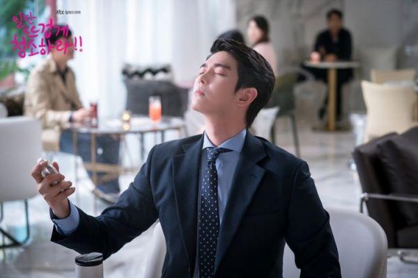 """""""Cô Tiên Dọn Dẹp"""" tung ảnh hậu trường đáng yêu của Kim Yoo Jung, Yoon Kyun Sang 19"""
