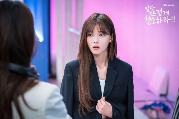 """""""Cô Tiên Dọn Dẹp"""" tung ảnh hậu trường đáng yêu của Kim Yoo Jung, Yoon Kyun Sang 24"""