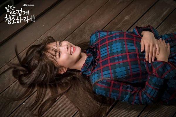 """""""Cô Tiên Dọn Dẹp"""" tung ảnh hậu trường đáng yêu của Kim Yoo Jung, Yoon Kyun Sang 27"""