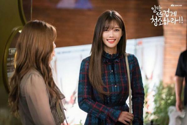 """""""Cô Tiên Dọn Dẹp"""" tung ảnh hậu trường đáng yêu của Kim Yoo Jung, Yoon Kyun Sang 28"""