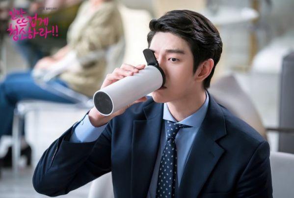 """""""Cô Tiên Dọn Dẹp"""" tung ảnh hậu trường đáng yêu của Kim Yoo Jung, Yoon Kyun Sang 29"""