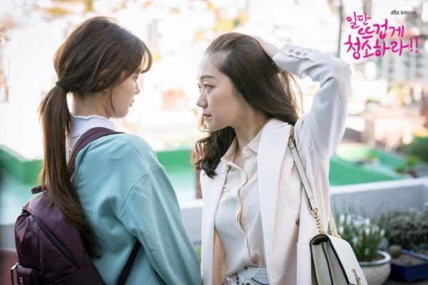 """""""Cô Tiên Dọn Dẹp"""" tung ảnh hậu trường đáng yêu của Kim Yoo Jung, Yoon Kyun Sang 34"""