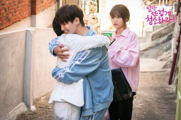 """""""Cô Tiên Dọn Dẹp"""" tung ảnh hậu trường đáng yêu của Kim Yoo Jung, Yoon Kyun Sang 35"""