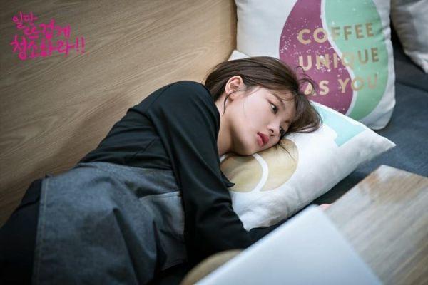 """""""Cô Tiên Dọn Dẹp"""" tung ảnh hậu trường đáng yêu của Kim Yoo Jung, Yoon Kyun Sang 37"""