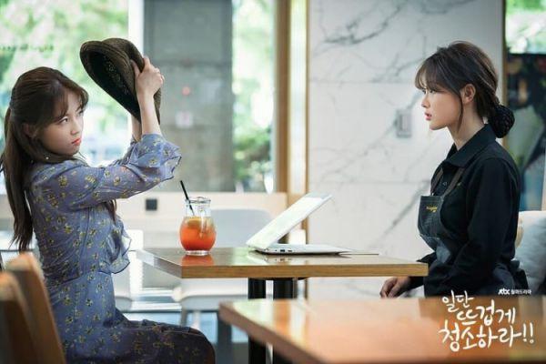 """""""Cô Tiên Dọn Dẹp"""" tung ảnh hậu trường đáng yêu của Kim Yoo Jung, Yoon Kyun Sang 38"""