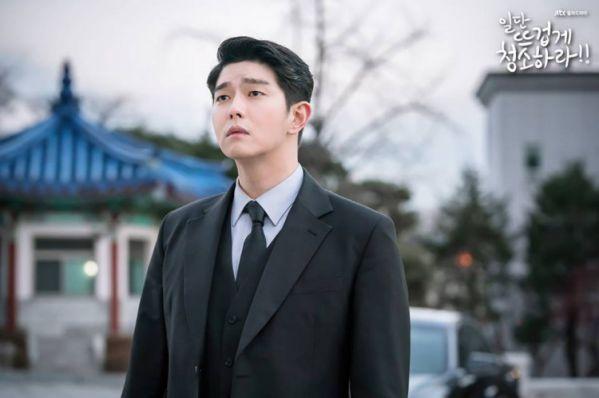 """""""Cô Tiên Dọn Dẹp"""" tập 7: Sun Kyun thấy Gil Oh Sol và Choi Kun vui vẻ với nhau 3"""