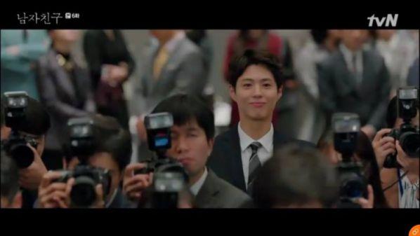 """""""Encounter"""" tập 6: Song Hye Kyo công khai yêu Bo Gum trước báo chí 19"""