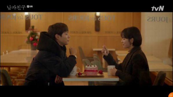 """""""Encounter"""" tập 6: Song Hye Kyo công khai yêu Bo Gum trước báo chí 3"""