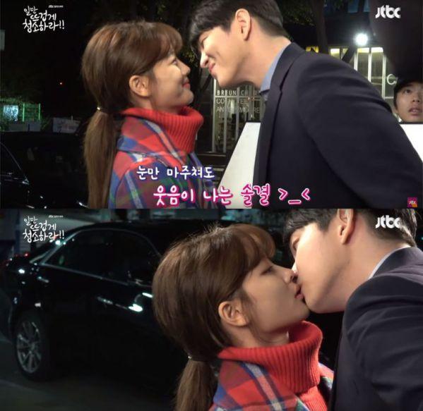 """Hậu trường phim """"Cô Tiên Dọn Dẹp"""": Cặp đôi chính lầy, cute và đáng yêu 3"""