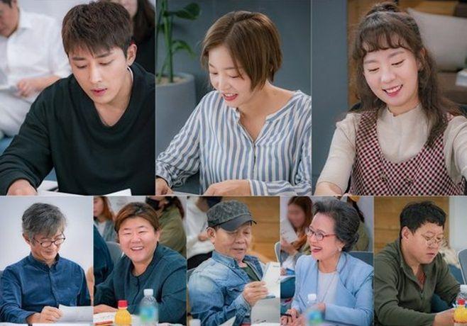 Hình ảnh buổi đọc kịch bản phim 'Dazzling' của Han Ji Min và Nam Joo Hyuk 1-1